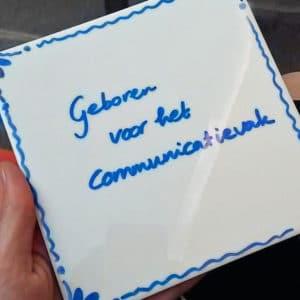 Tegeltjes wijsheid communicatie project